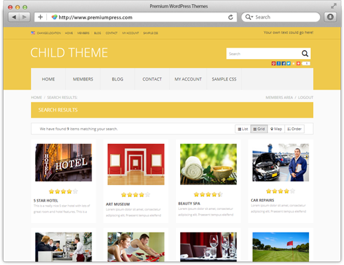 directory theme for wordpress